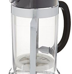 Bodum Chambord 8 Cup Shatterproof French Press Coffeemaker, Chrome, 1.0 liter, 34-Ounce