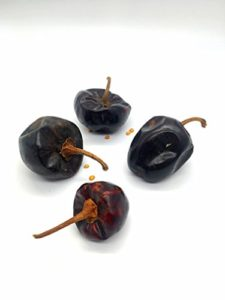Cascabel Chiles Dried 6 Oz Chili Peppers For Mexican Recipes Tamales Salsa Chili Meats Soups Stews And Grill By Ole Mission 0 0