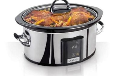 Crock-Pot 6.5-Quart, Programmable Slow Cooker