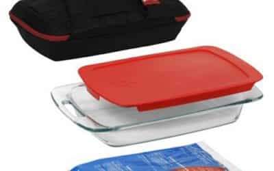 Pyrex Baking Dish With Carrying Case