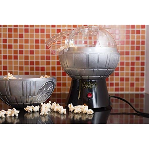 Star Wars Death Star Popcorn Maker Hot Air Style With Removable Bowl 0 1