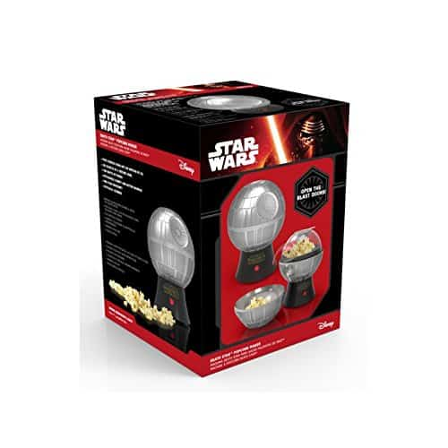 Star Wars Death Star Popcorn Maker Hot Air Style With Removable Bowl 0 2