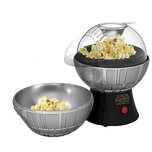 Star Wars Death Star Popcorn Maker Hot Air Style With Removable Bowl 0