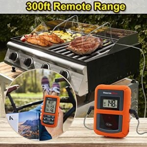 ThermoPro TP20 Wireless Remote Digital Cooking Food Meat Thermometer With Dual Probe For Smoker Grill BBQ Thermometer 0 0
