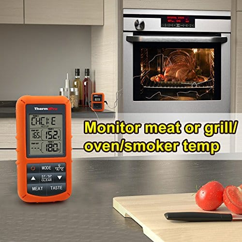 ThermoPro TP20 Wireless Remote Digital Cooking Food Meat Thermometer With Dual Probe For Smoker Grill BBQ Thermometer 0 2