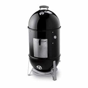 Weber 721001 Smokey Mountain Cooker 18 Inch Charcoal Smoker Black 0