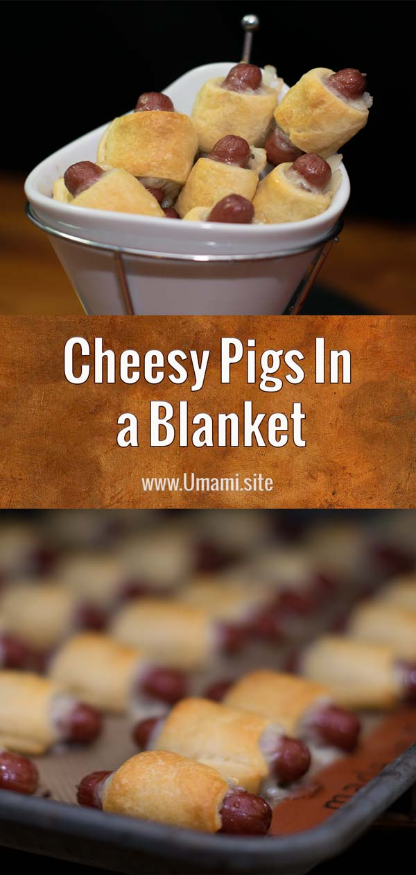 Cheesy Pigs In A Blanket Pinterest