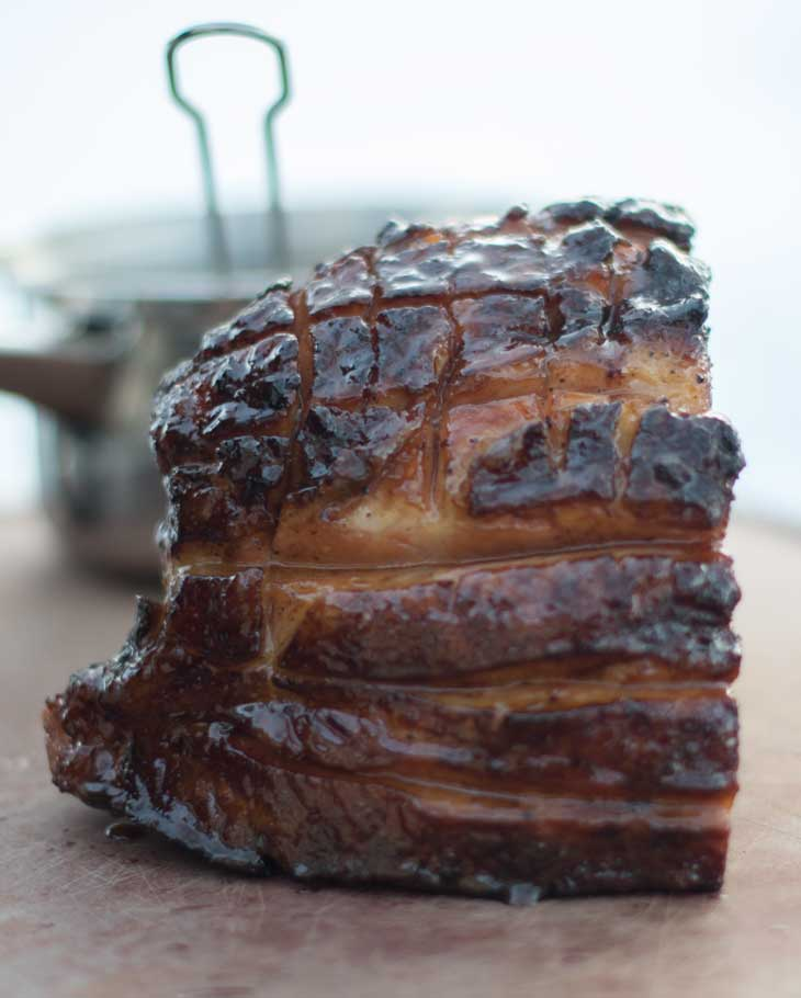 Grilled Ham Pinterest