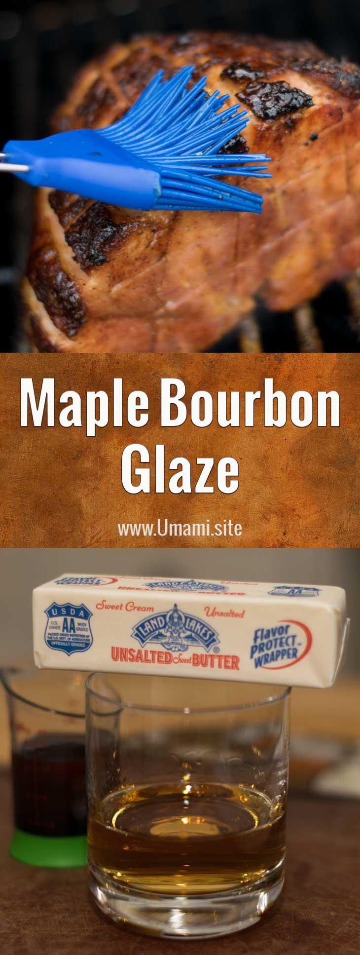 Maple Bourbon Glaze Pinterest