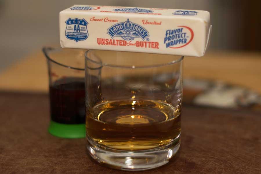 Maple Bourbon Ingredients