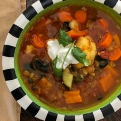 Spicy Lentil Soup Featured