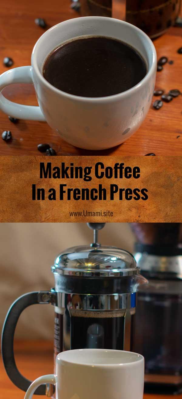 French Press Coffee Pinterest