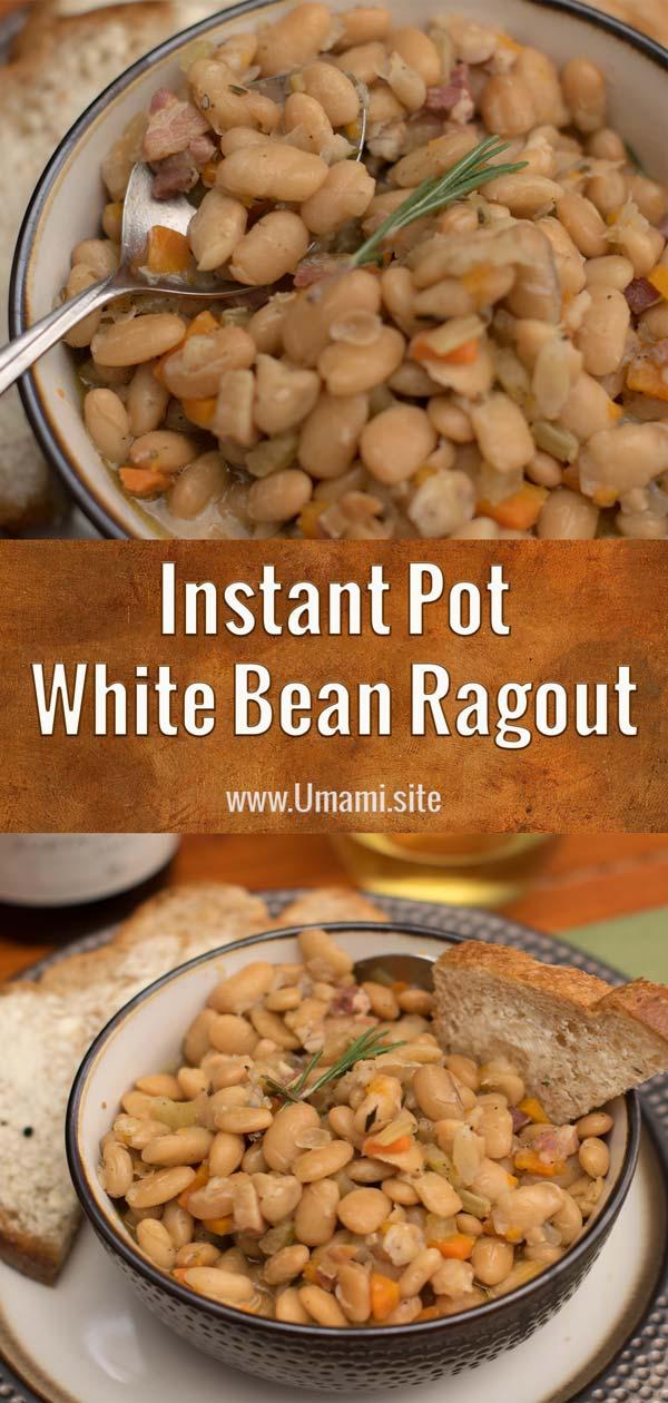 IP White Bean Ragout Pinterest