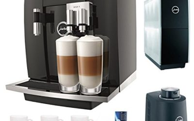 Jura Giga 5 Cappuccino & Latte Macchiato System + $50 aSavings Gift Card + Jura Cup Warmer Black Stainless Steel and Jura Cool Control Milk Cooler + Accessory Kit