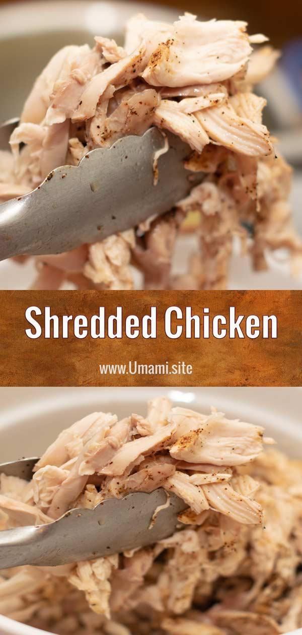 Shredded Chicken Pinterest