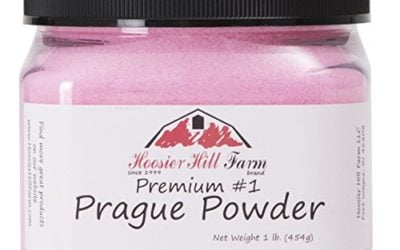 Hoosier Hill Farm Prague Powder Curing Salt, Pink, 1 Pound
