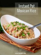 Instant Pot Mexican Rice Single