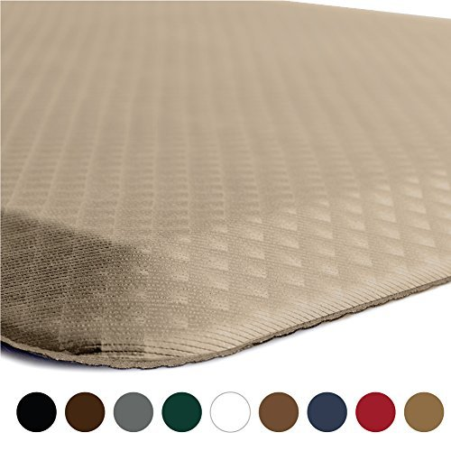 The Original 34 KANGAROO R Premium Anti Fatigue Comfort Standing Mat Kitchen Rug Phthalate Free 9 Colors And 5 Sizes Perfect For Kitchen Office Desk Laundry 0