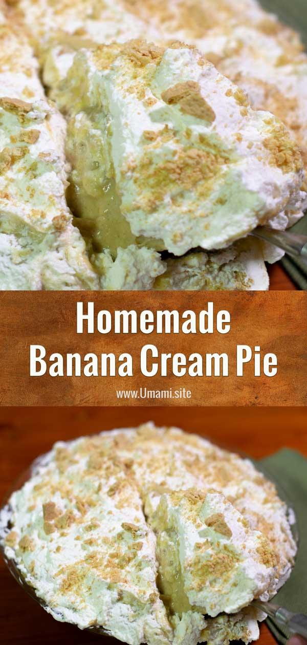 Banana Cream Pie Pinterest