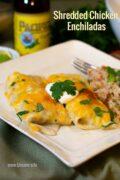 Chicken Enchiladas Pinterest