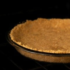 Graham Cracker Crust Baking Featured