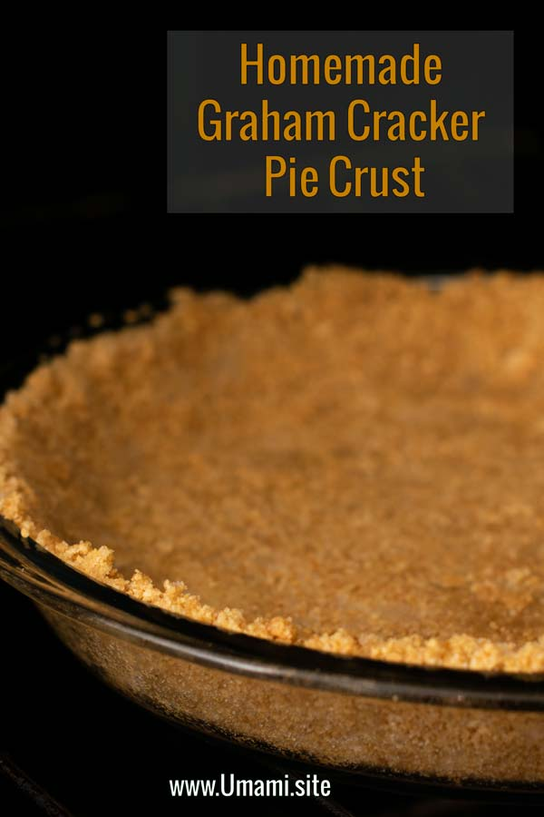 Homemade Graham Cracker Crust Pinterest Two