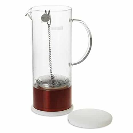 FORLIFE Lucent Glass Iced Tea Jug With Capsule Infuser 48 Ounces 0 1