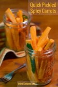 Quick Pickled Spicy Carrot Pinterest Solo