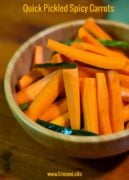 Quick Pickled Spicy Carrots Pinterest 2