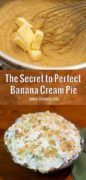 Making Banana Cream Pie Pinterest