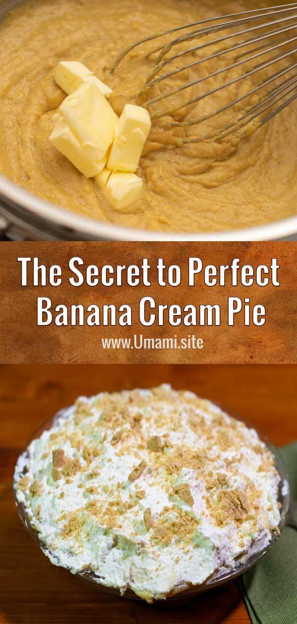 Making Banana Cream Pie Pinterest