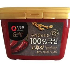 Premium Red Chili Paste Gochujang With 100 Korean Ingredients Small 11 Lb By Chung Jung One 0