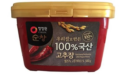 Premium Red Chili Paste, Gochujang with 100% Korean Ingredients (Small 1.1 lb) By Chung-Jung-One