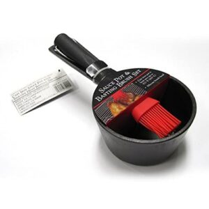 Charcoal Companion Sauce Pot And Basting Brush Set 0