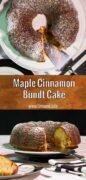 Maple Cinnamon Bundt Cake Pinterest 2