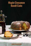 Maple Cinnamon Bundt Cake Pinterest Single
