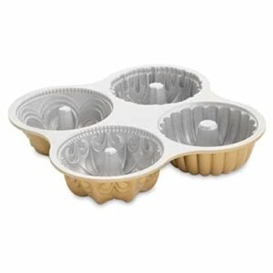 Nordicware 9 Cup Bundt Quartet Pan 0 0