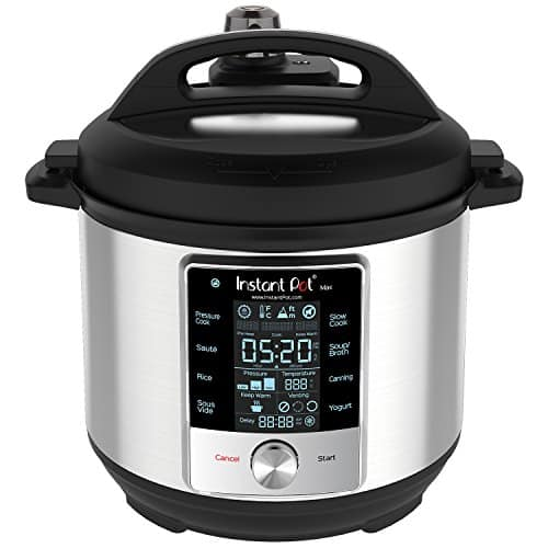 Instant Pot 60 Max 6 Quart Electric Pressure Cooker Silver 0