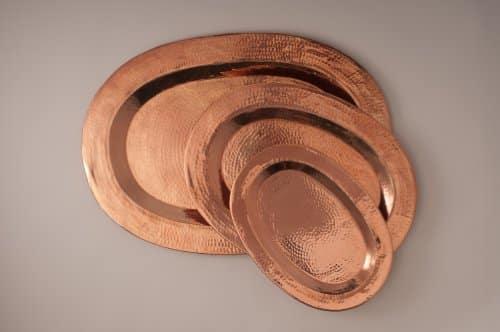 Sertodo Thessaly PlatterHammered Copper 0 0