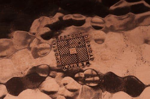 Sertodo Thessaly PlatterHammered Copper 0 1