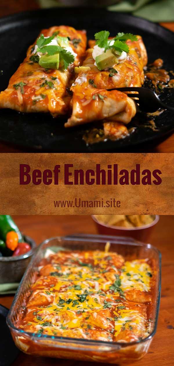 Beef Enchiladas Pinterest
