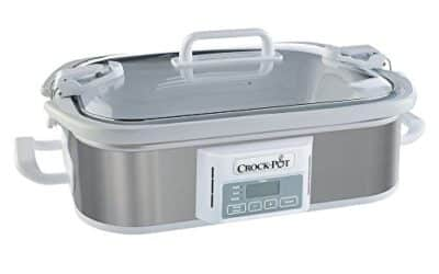 Stainless Steel Programmable Digital Crock-Pot, 3.5 quart