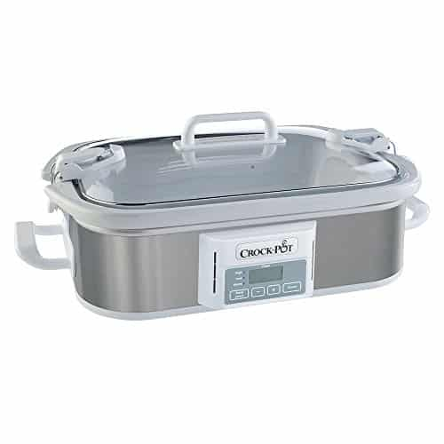 Crock Pot SCCPCCP350 SS Programmable Digital Casserole Crock Slow Cooker 35 Quart Stainless Steel 0