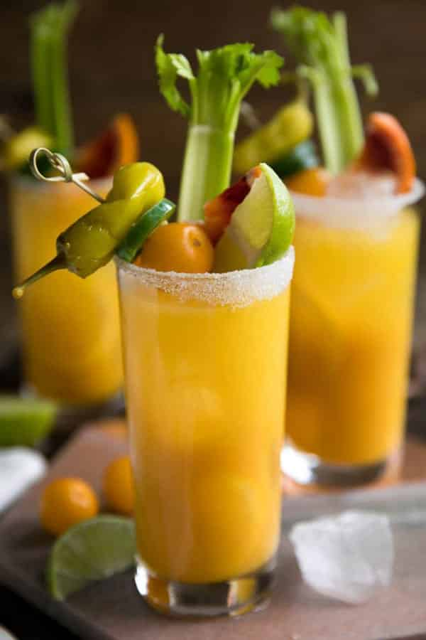 Golden Beet And Tomato Bloody Mary 3