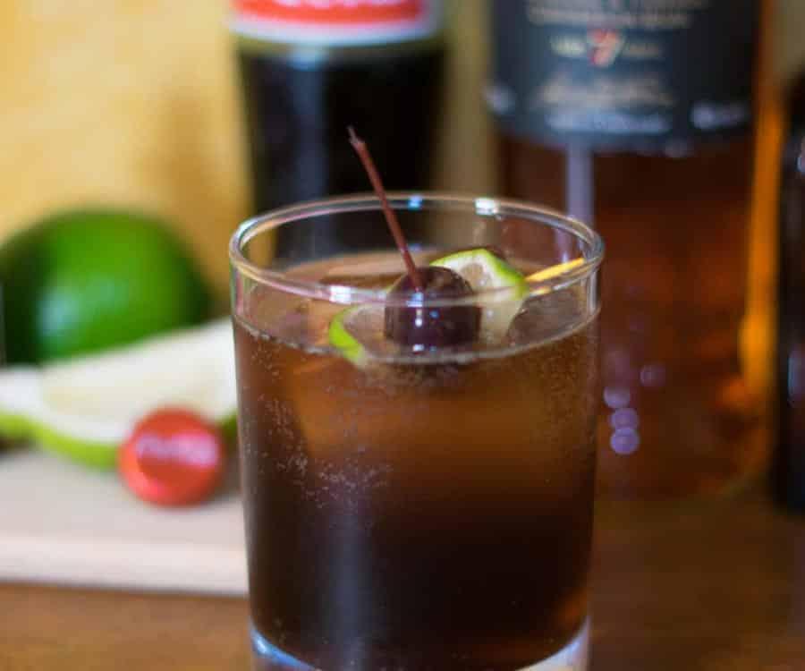 Old Fashioned Cuba Libre