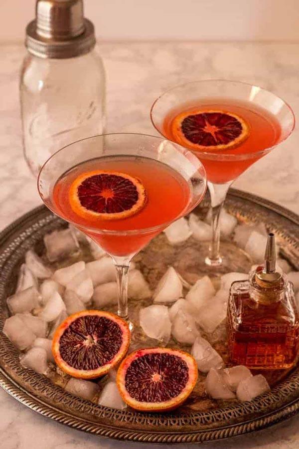 Orange Vesper Martini 3