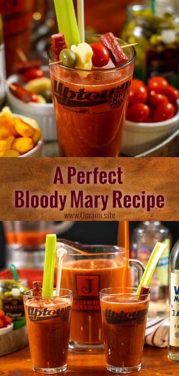 Bloody Mary Recipe Pinterest
