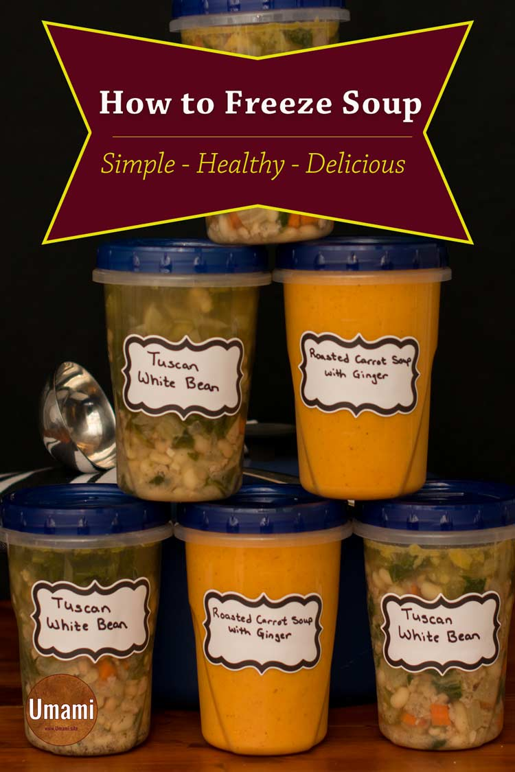 Soups To Freeze Single Pinterest