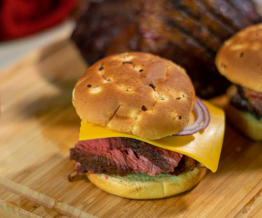 Smoked Beef Snadwhich
