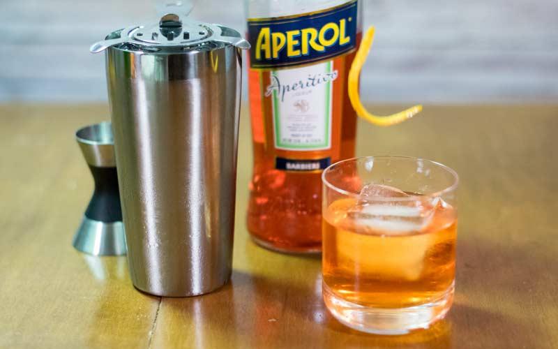 Aperol Negroni Orange Peel